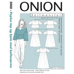 Onion Peplunm top - kjole 2088