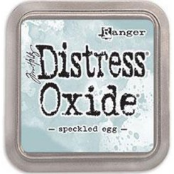 Speckled Egg, distress Oxide ink