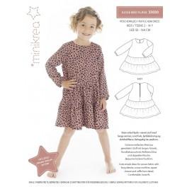 Minikrea kjole 33030, 2-14 år