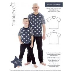 Minikrea Tshirt 66220, mænd-drenge