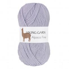 Alpaca Fine fv. 667 blå Lilla, Viking