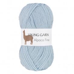 Alpaca Fine fv. 624 Lys Blå