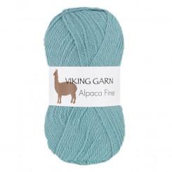 Alpaca Fine fv. 668 blå , Viking