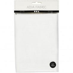 Aida hvid 70 tern pr. 10 cm, 50 x 50 cm