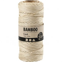 Bamboo snor Sand 1 mm x 65 m