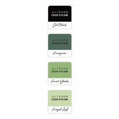Green fields ink cube sæt, Altenew