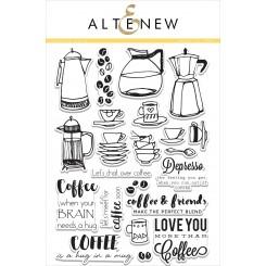 Coffee Love stempelsæt, Altenew