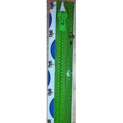 Delbar lynlås Lys Grøn, 35 cm