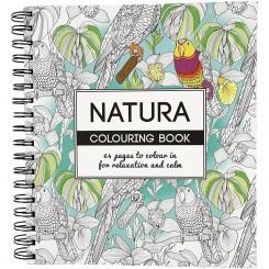 Voksen malebog Natura 64 sider