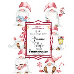 Gnome Life toppers 9 x 9 cm