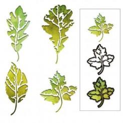 Leaf Print die. Tim Holtz