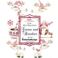 Toppers Gnome and Reindeer