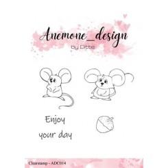 Anemone stempel, Mus og nød