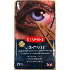 Lightfast pencils 12 farver Derwent