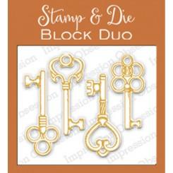 Dies & Stempel Nøgler IO stamps