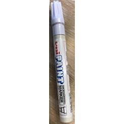 Uni Shiny White marker
