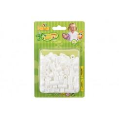 Hama maxi perler hvid 250 stk