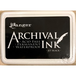 Archival ink Jet black