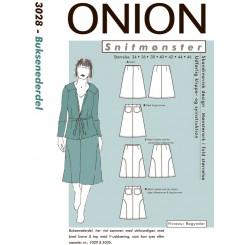 Onion mønster 3028 Bukse Nederdel