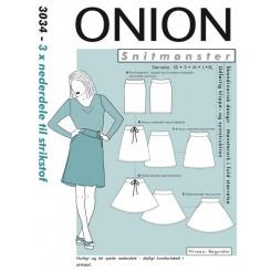 Onion mønster 3034 Nederdel