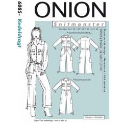 Onion mønster 6005 Kedeldragt