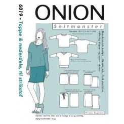 Onion mønster 6019 Top og nederdel