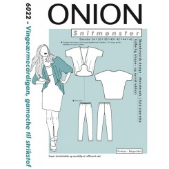 Onion mønster 6022 cardigan