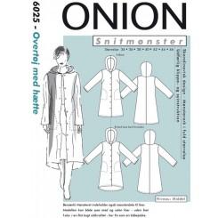 Onion mønster 6025 overtøj m, hætte