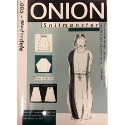 Onion mønster 8005 nederdel