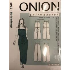 Onion mønster 6012 Buksedragt