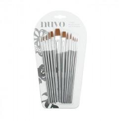 Nuvo penselsæt allround pensler