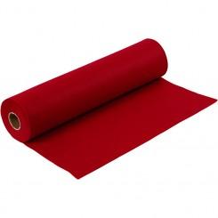 Filt Mørk Rød ½ meter x 45 cm