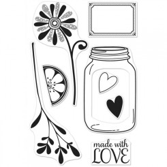 Love Jar stempel
