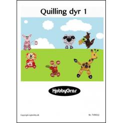 Quilling dyr