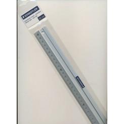 Metal Lineal 30 cm med gummi bag