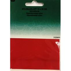 Reperations lappe rød nylon