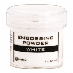 Embossing pulver White Ranger