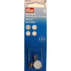 Værktøjssæt til plast tryklåse