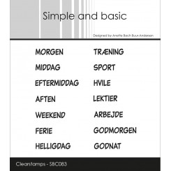 Planner stempel, simple and basic