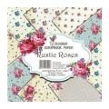 Rustic roses designer papir