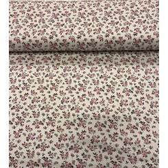 Interlock print small flower lyserød, Jersey