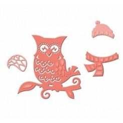 Winter Owl  S2-117 Spellbinders