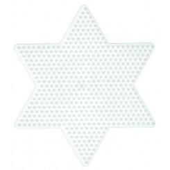 Hama stiftplade stjerne stor