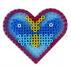 Hama Maxi stiftplader Hjerte