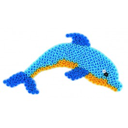 Perleplader Delfin Midi perler