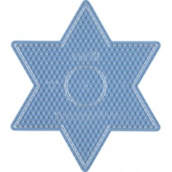 Stjerne perleplade 17 cm