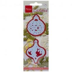 Jule ornamenter 2 stk LR0184