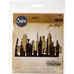 Cityscape / skyskrabe dies, Sizzix