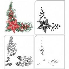 Christmas corner stempel sæt, NS