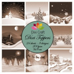 Dixi Toppers Christmas ET0258